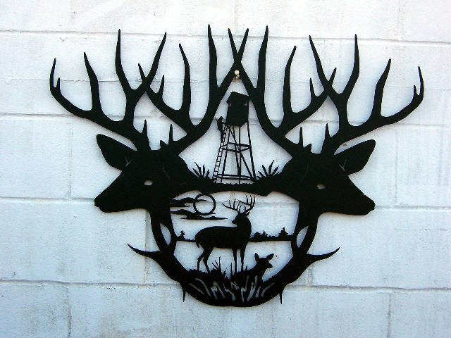 Deer Help | ReadyToCut - Vector Art for CNC - Free DXF Files