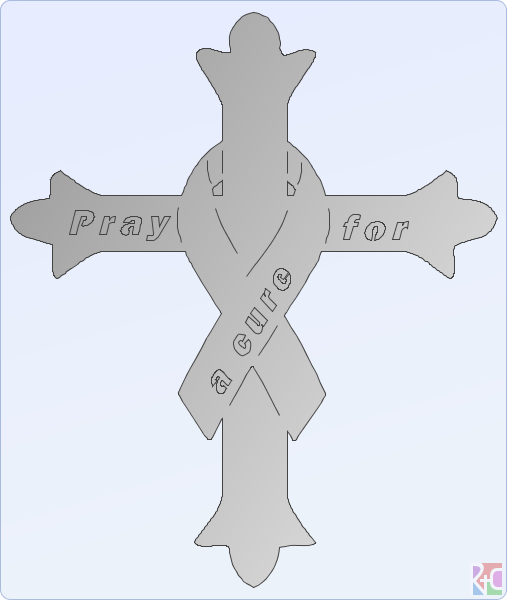 cancer cross.dxf.