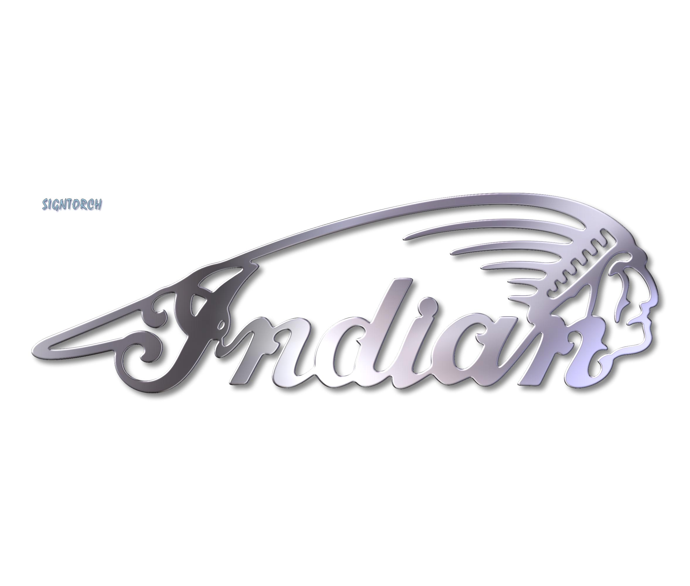 indian motorcycle logo readytocut vector art for cnc