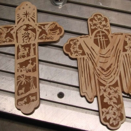 Cnc_wood_router_christian_cross