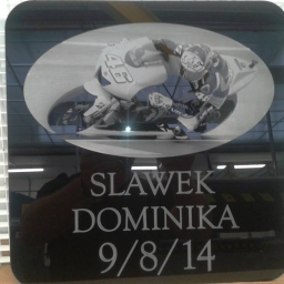 Laser Etched Acrylic