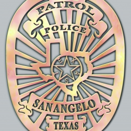San Angelo Police Badge