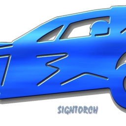Modified Race Car DXF